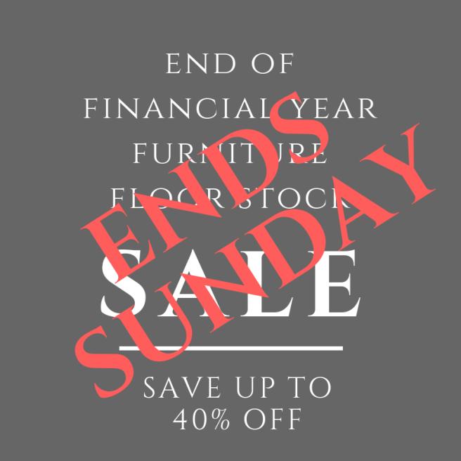 EOFY Furniture Floor Stock Sale